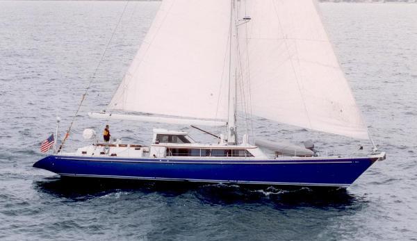 Ted Hood 78 Sailing