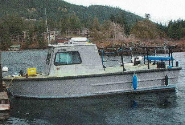 Aluminum Boat - Ex US Navy Monark
