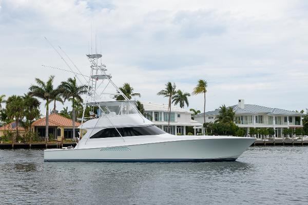 Viking 61 Convertible Starboard Profile
