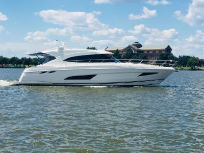 Riviera 5400 Sport Yacht-IN STOCK! Riviera 5400 Sport Yacht (Actual Photo of our Stock Boat)