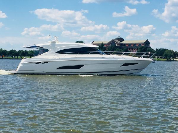Riviera 5400 SY Riviera 5400 Sport Yacht (Actual Photo of our Stock Boat)