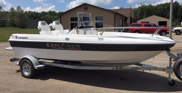 Campion Explorer 492 Center Console