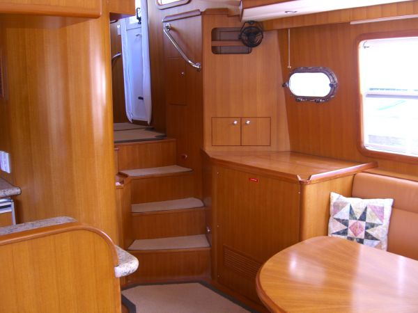 Pilothouse access