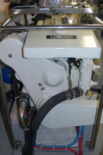 Main Lugger engine