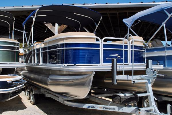 Bennington 24 SL Pontoon 2017-Bennington-24-SL-Pontoon-Boat-For-Sale