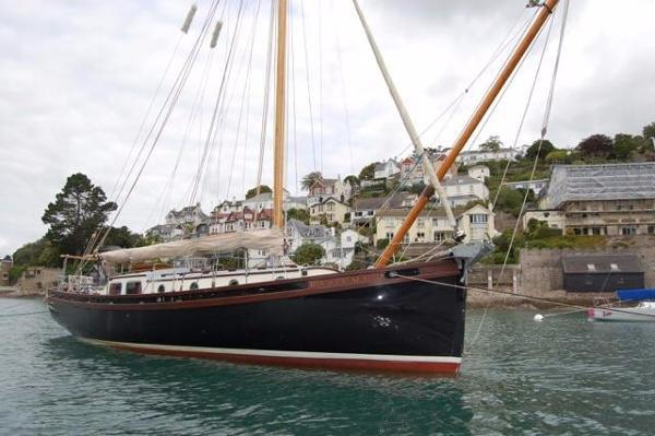 Heard Gaff Cutter Falmouth Quay Punt 35