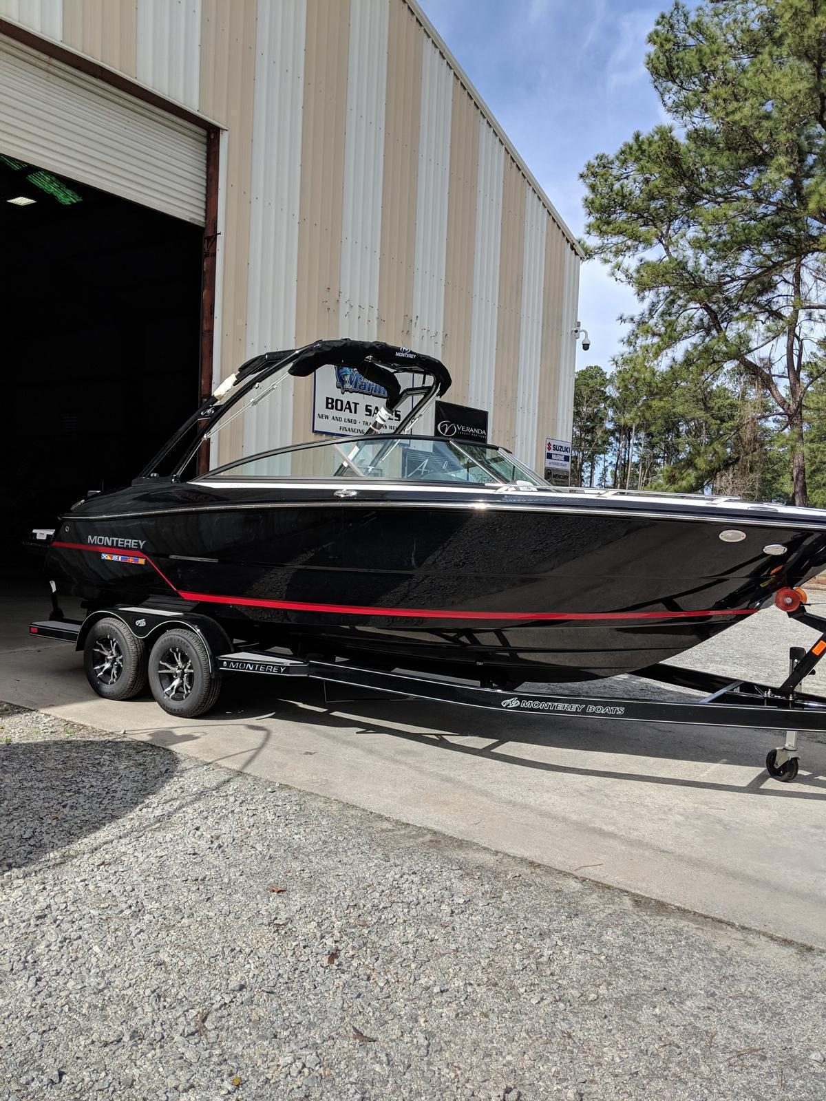 Monterey 238SS Bowrider w/ I/O Merc 4.5l Bravo III
