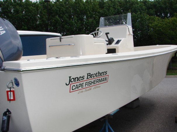 Jones Brothers 23 Cape Fisherman LTE