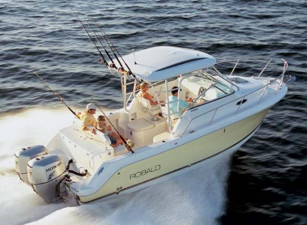Robalo R245 Walkaround Manufacturer Provided Image