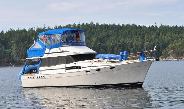 Bayliner 3870 Motoryacht On the Water