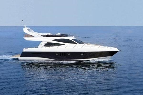 Dyna 52S flybridge Sister boat