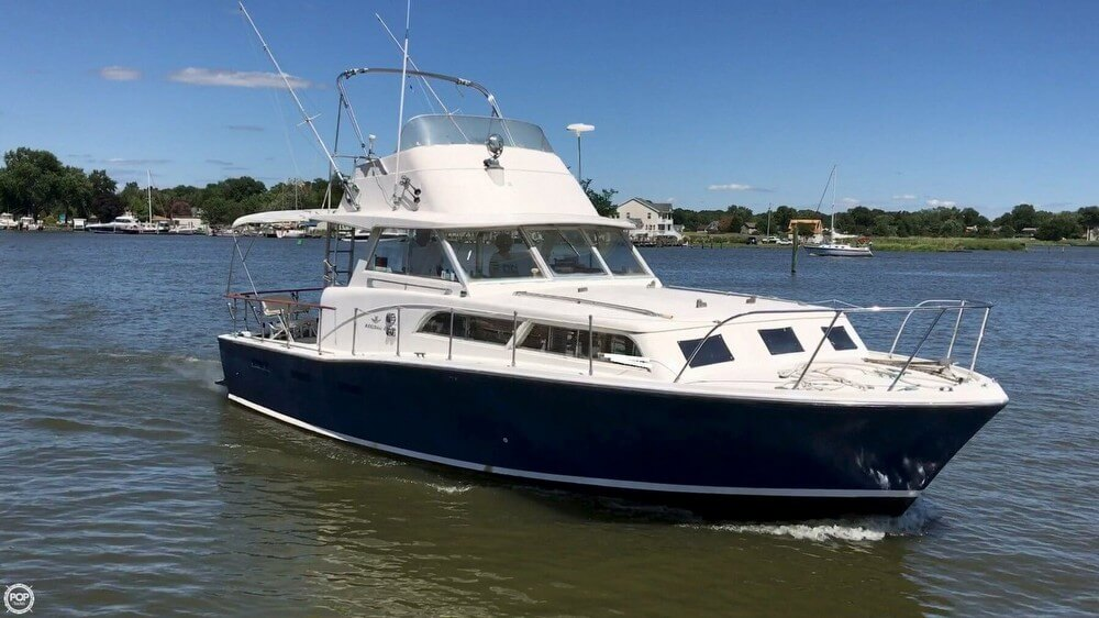 Bertram 38 Flybridge Cruiser 1964 Bertram 38 for sale in Tracys Landing, MD