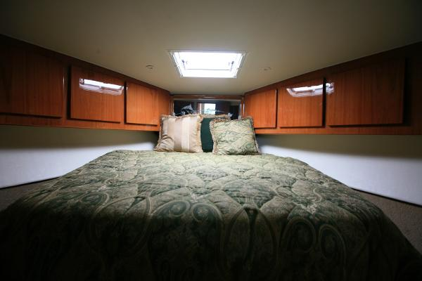 Master stateroom and berth
