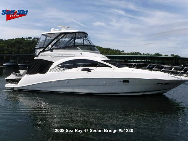 Sea Ray 47 Sedan Bridge
