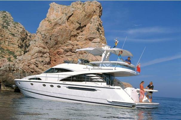 Fairline Squadron 58 Manufacturer Provided Image: Squadron 58