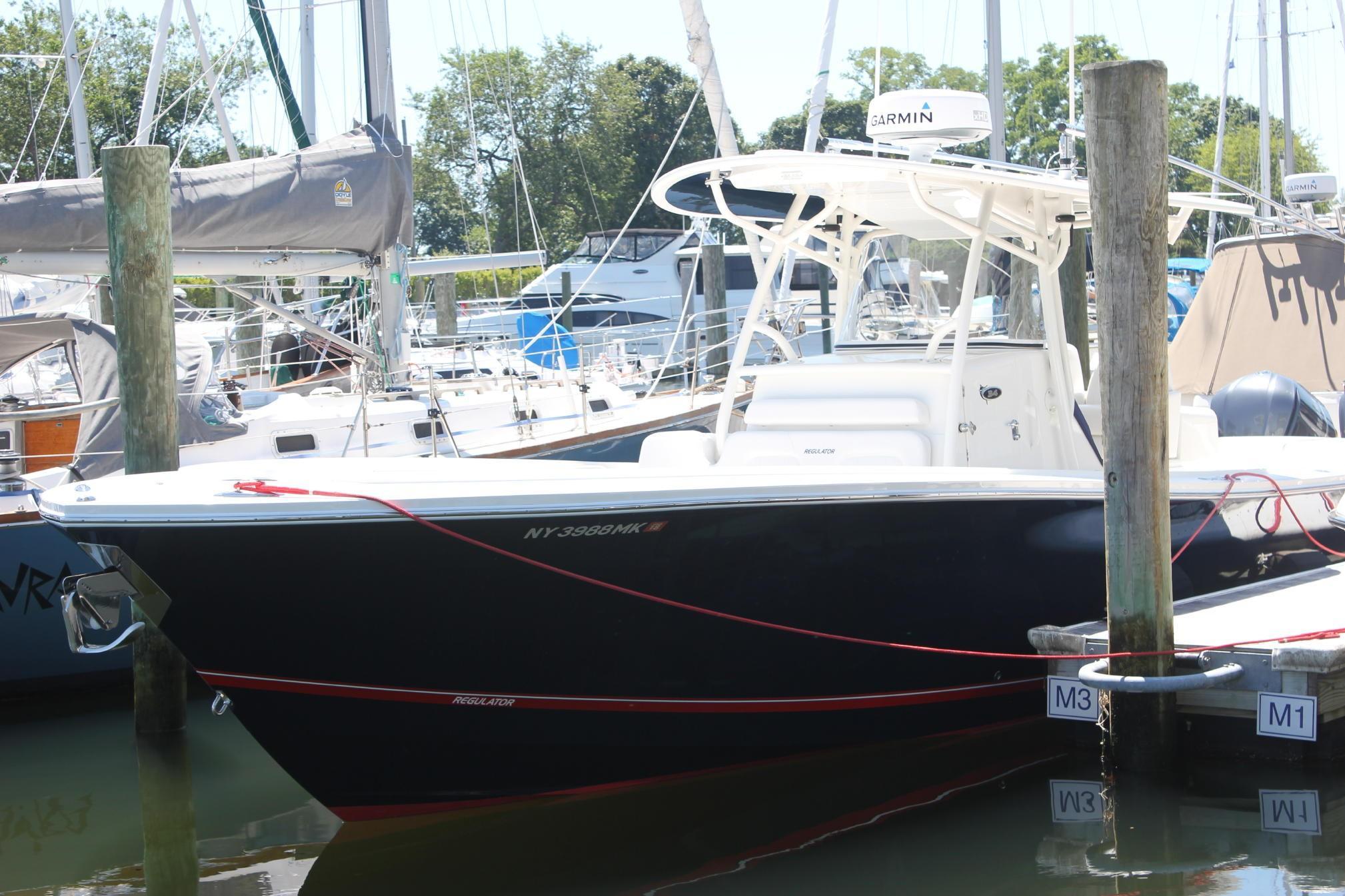 Regulator 34SS Port view