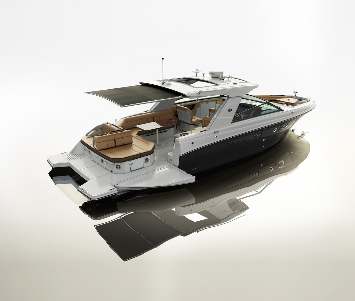 Sea Ray 400 SLX - Factory Prototype