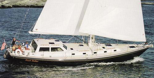 Little Harbor Performance Cruiser 51' Little Harbor underway