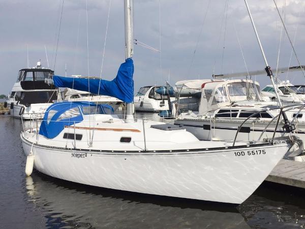 C&C 30 Sloop Starboard Profile