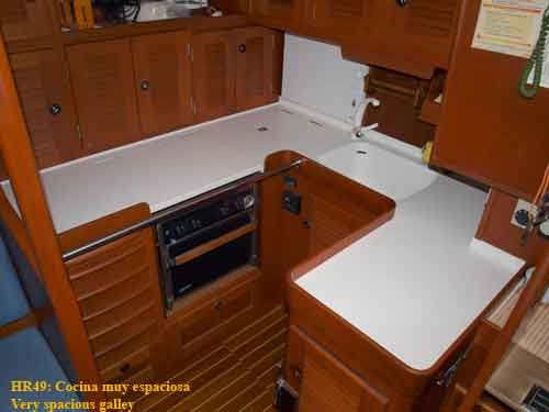 Hallberg Rassy 49 Galley