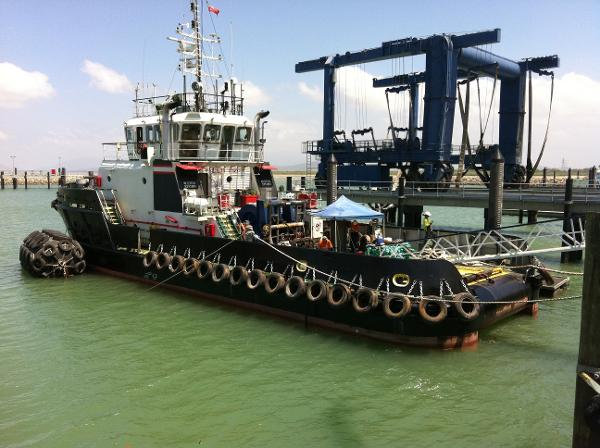 Deep Sea Tug Offshore Support Standby Ocean Towing Tug Boat 104' Deep Sea Tug Offshore Support Standby Ocean Towing Tug Boat