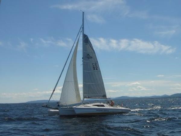 Corsair 28CC - 92 Sailing