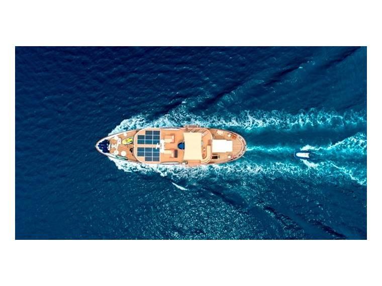 Aegean Yachts Full Displacement Twin Screw Motor Vesse