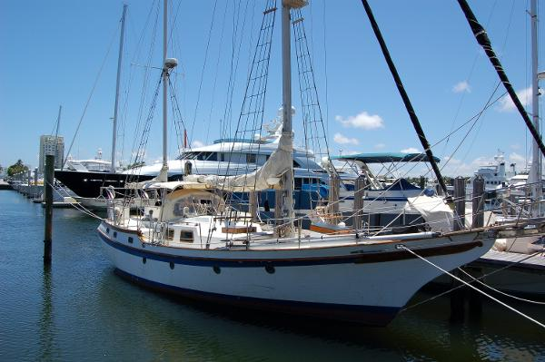 Vagabond 47 At the dock