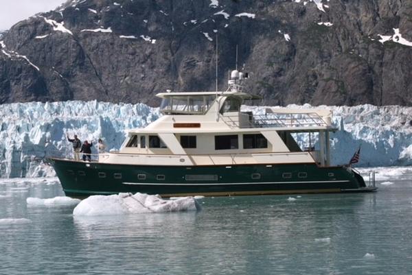 Alaskan 65 Flushdeck Good Fortune - Profile