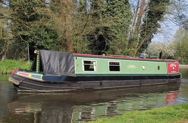 Narrowboat 45' Mike Haywood Trad