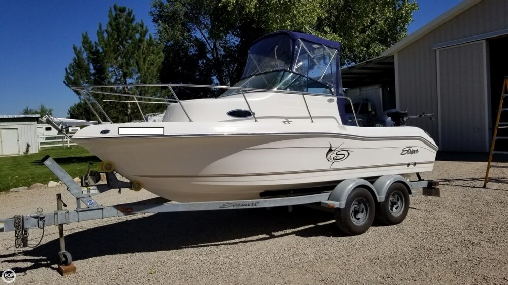 Seaswirl 1851 WA Striper 2011 Seaswirl 1851 WA Striper for sale in West Haven, UT