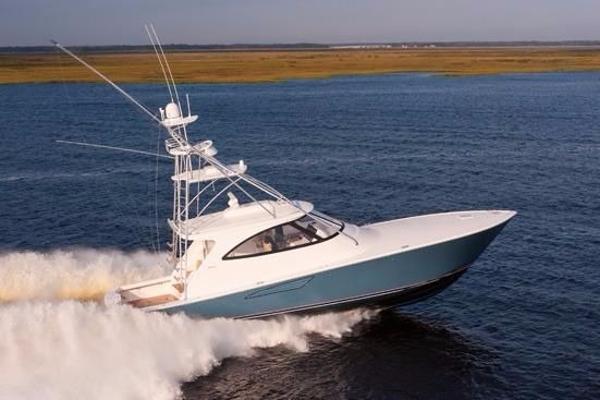 Viking 52 Open Starboard Side