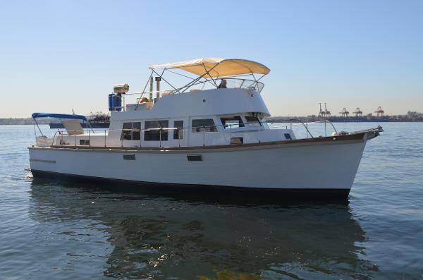 Monk Custom Trawler 47'