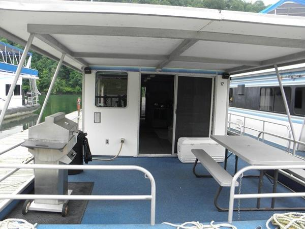 Custom Waterhouse Houseboat