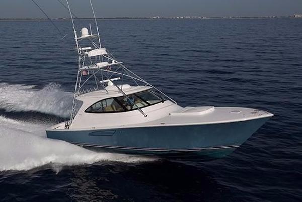 Viking 52 Sport Tower Starboard Side