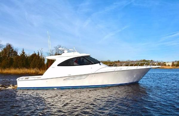 Viking 52 Sport Coupe Starboard Side