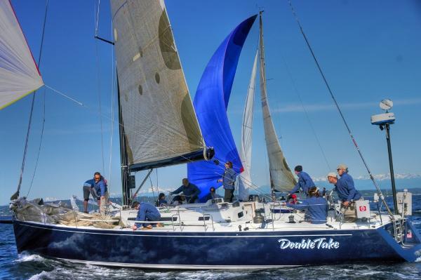 J Boats J/145 Downwind startt