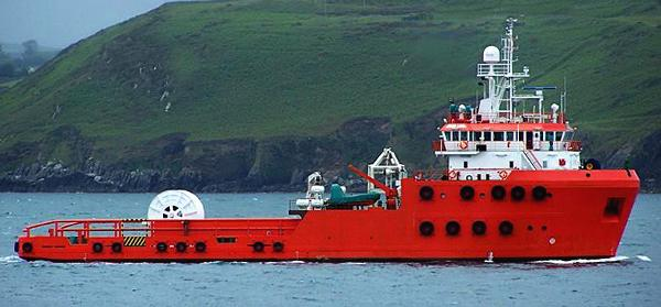 Custom Offhore Seismic Support Vessel