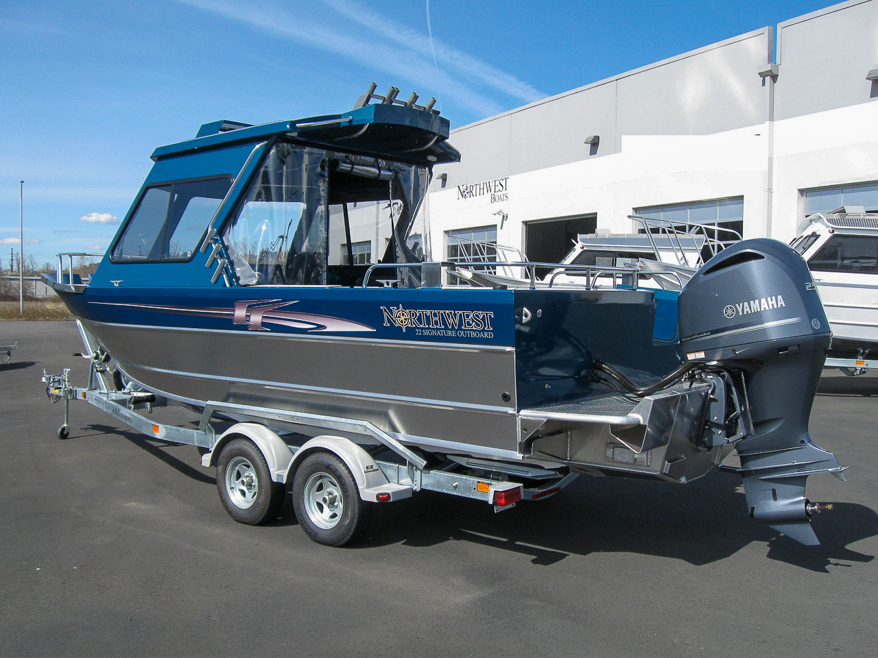 Northwest Boats 22 Signature OB