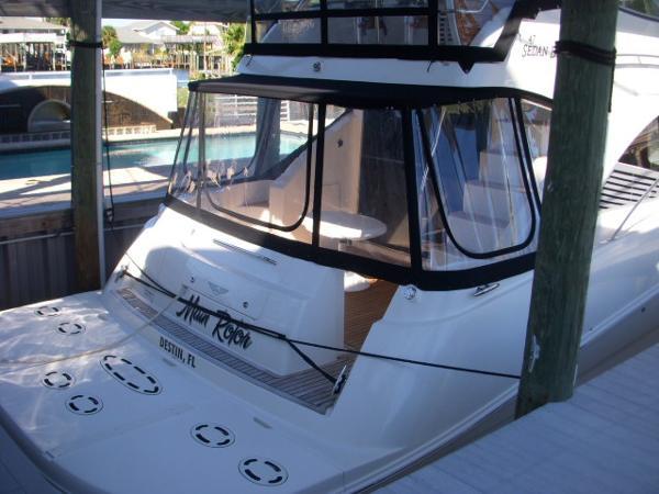 Transom Swim Platform from Starboard