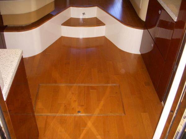 Galley- Wood Flooring