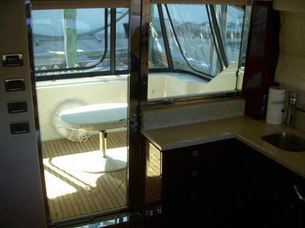 Salon thru Galley to Cockpit