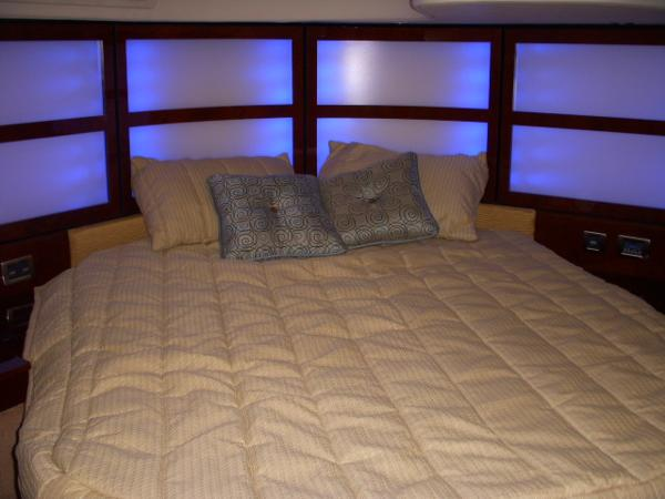 Master Stateroom- Lighted backdrops