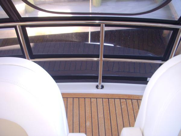 Bridge- Behind Captain's Chairs