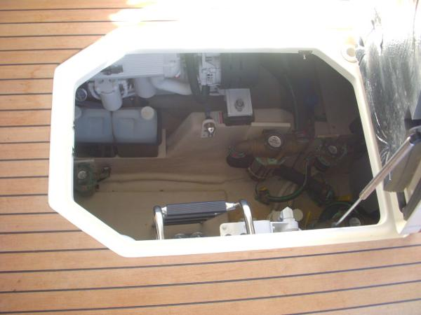 Cockpit- Engine Room Access Door