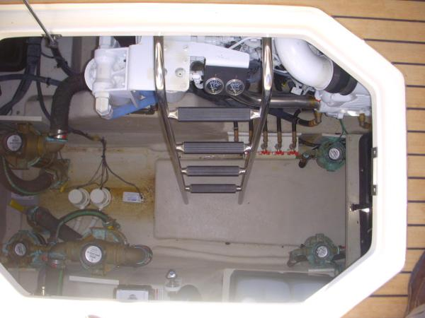 Cockpit- Engine Room Access Ladder