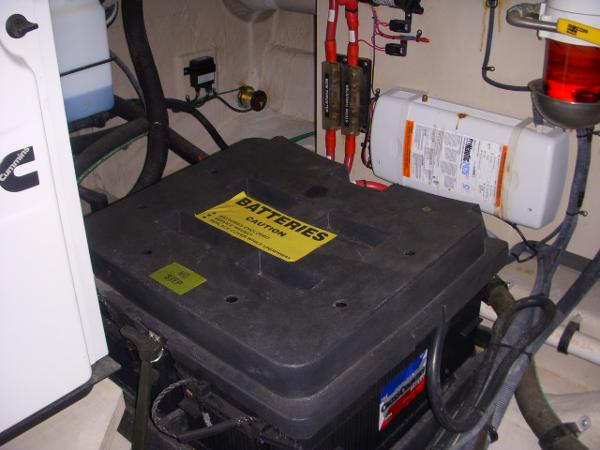 Engine Room- One Battery bank box