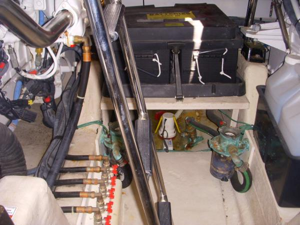 Engine Room- Second Battery Bank box