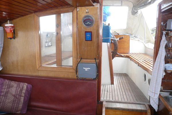 Deck saloon looking aft