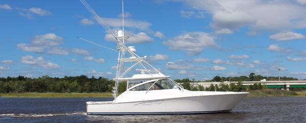 Viking 48 Open Starboard Side